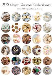 unique christmas 30 unique christmas cookie recipes cooking lsl