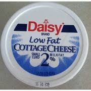 Calories In Lowfat Cottage Cheese by Daisy Cottage Cheese Low Fat Small Curd Calories Nutrition
