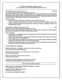 Resume Summary Paragraph Examples by Director Of Marketing Resume Example Sample