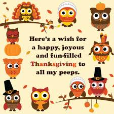 happy thanksgiving wishes for your family and friends