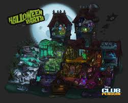Haunted House Halloween Party by Haunted Mansion Club Penguin Wiki Fandom Powered By Wikia