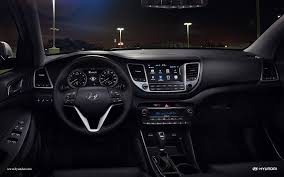hyundai tucson 2015 interior all new 2016 hyundai tucson crossover impresses