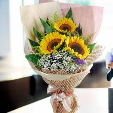 bouquet of sunflowers sunflowers for sale delivery singapore sun flower flower