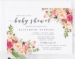 babyshower invitations baby shower invitation etsy