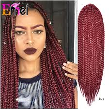medium box braids with human hair 22 bug crochet box braid medium synthetic crochet braids hair