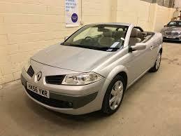 used renault megane convertible for sale motors co uk