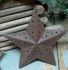 moose r us set 3 punched tin ornaments 3d