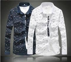 2015 m 5xl men casual shirt mens dress shirts polo floral print