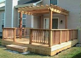 Pergola Designs With Roof by Exteriors Captivating Covered Small Deck Designs Ideas With