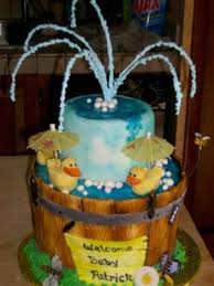 rubber ducky baby shower cake rubber ducky cake for a baby shower