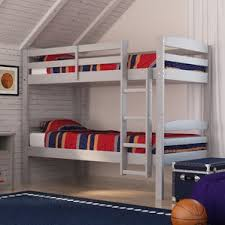 Bunk  Loft Beds Youll Love Wayfair - Twin bunk beds for kids