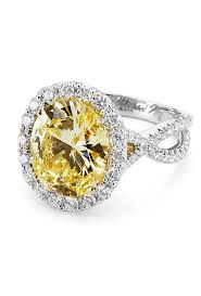 canary engagement ring yellow engagement rings brides
