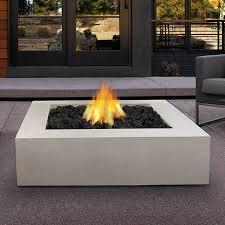 Fire Pit Price - mezzo square fire table antique white woodlanddirect com