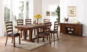 new classic furniture lanesboro 7 piece dining table set in