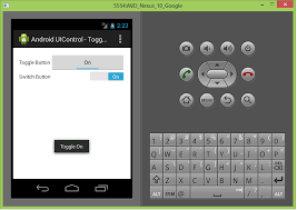 android toggle button article 4 android ui layout and controls codeproject