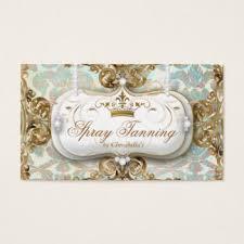Crown Business Cards Spray Tan Business Cards Zazzle Com Au