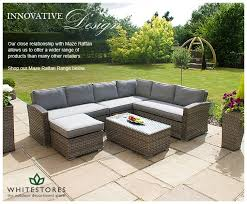 Make Your Garden Comfortable With Wicker Garden Furniture - Rattan outdoor sofas