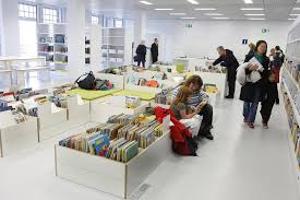 Childrens Books The New Stuttgart City Library Pict  Home - Library interior design ideas