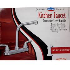 high rise kitchen faucet ez flo 10028 high rise kitchen faucet w spray brushed nickel 8