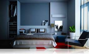 blue and gray bedroom décor grey blue bedroom paint colors