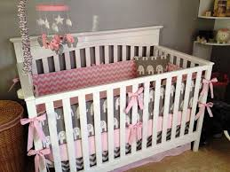 Grey And Pink Nursery Decor by Baby Elephant Nursery Decor Ideas