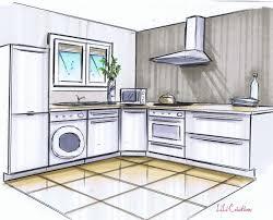 dessin chambre en perspective comment dessiner sa chambre 6 cuisine blanche et grise le de