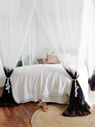 Four Poster Bed Curtains Drapes Best 25 Bed Curtains Ideas On Pinterest Canopy Bed Curtains