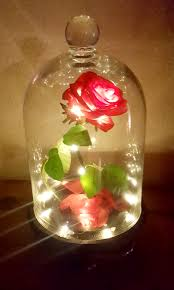 beauty and the beast light up rose make your own rose from beauty and the beast modern homemaker