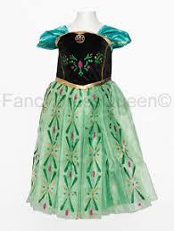 Anna Frozen Costume Anna Coronation Costume Girls Frozen Fancy Dress Age 2 3 4 5 6 7 8