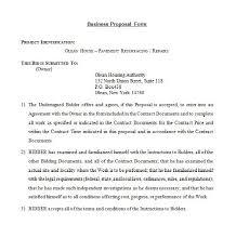 30 business proposal templates u0026 proposal letter samples