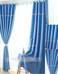 Blue Curtains Bedroom Blue Drapes Dining Room Living Room Curtain Embroidery Design