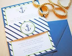 Wedding Invitations Nautical Theme - nautical anchor wedding invitation invitations pinterest