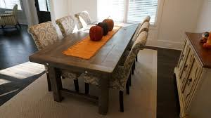 rustic dining room table rustic slate gray the clayton rustic farm dining table rustic