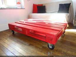 meuble fait en palette table basse industriel palette bois meubles et rangements par