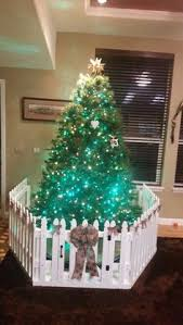 toddler proofing the tree cheap picket fence from lowe s could