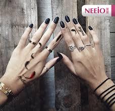 women feather temporary tattoo sticker waterproof finger hand ear