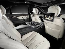 mercedes s class rear seats 2014 mercedes s class fully revealed in hamburg autoevolution