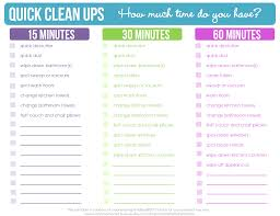 how to clean the house fast quick clean ups checklist free printable clean mama free