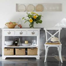 table console blanche l 108 cm kitchen accessories vintage