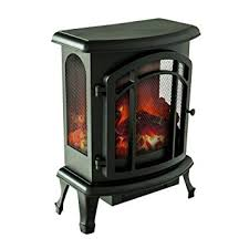 portable fireplace amazon com flameandshade electric fireplace stove heater portable