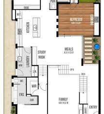 narrow house floor plans stunning 18 images narrow house plans home building narrow lot