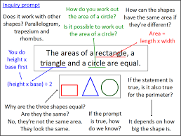 the areas of a rectangle a triangle and a circle are equal