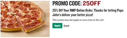 round table pizza coupons 25 off 7 papa john s pizza hacks