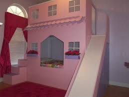 Doll House Bunk Bed Bunk Beds With Slides Bedroom Cheap Twin For Girls Intended Plans