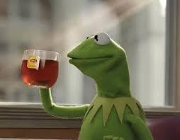 Kermit Meme Generator - kermit dicaprio cheers blank template imgflip