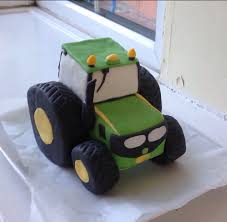 deere cake toppers fondant tractor deere cake topper with rice crispie square