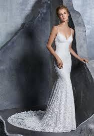 sheath wedding dress morilee 8209 kiley fitted lace sheath wedding dress white