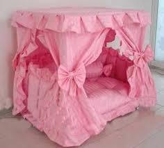 Pet Canopy Bed Princess Canopy Pet Bed Large 23 6 X 31 5 X 31 5