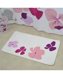 Non Skid Bath Rugs Deals On Evideco Softies Non Skid Print Bath Rug