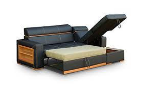 Corner Sofa Sleeper Faux Leather Corner Sofa Bed Becky Co Uk Kitchen Home